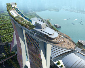 シンガポール空撮