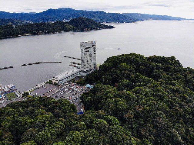 宇品グランドプリンスホテル広島-空撮