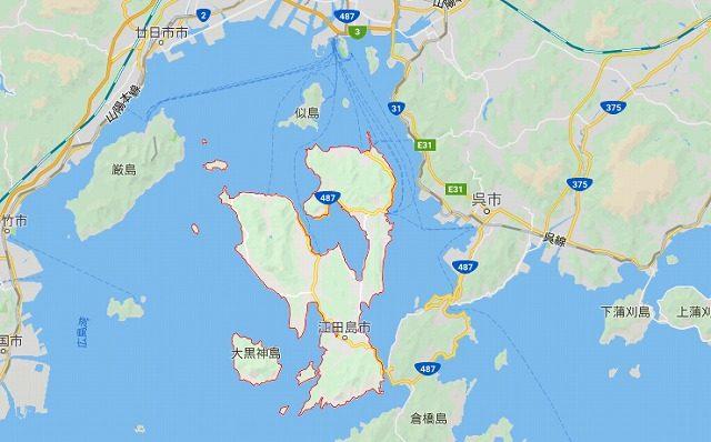 江田島-地図