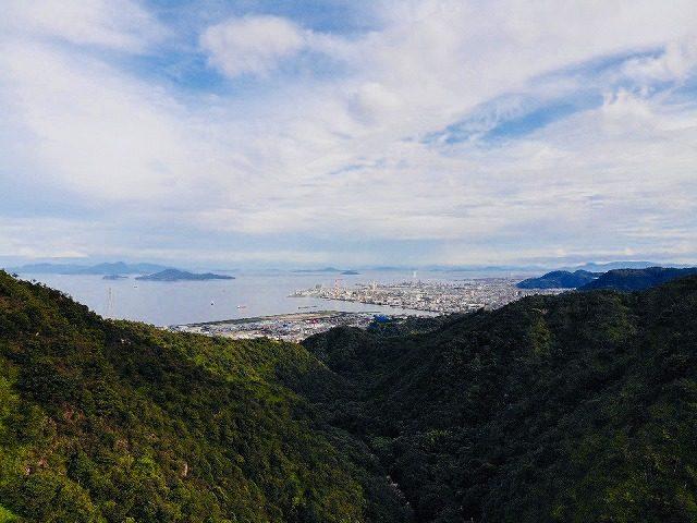 錦竜の滝-空撮4