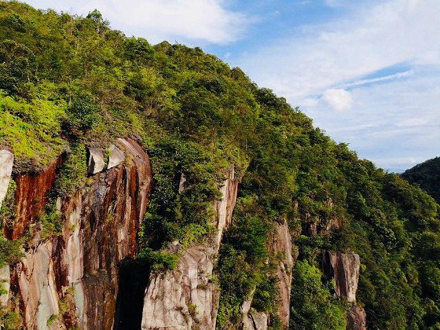 錦竜の滝-空撮3