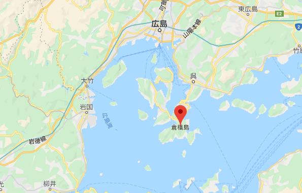 倉橋島地図