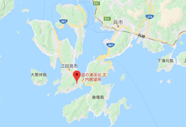 陀峯山地図