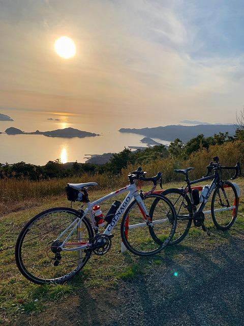 大星山ロードバイク