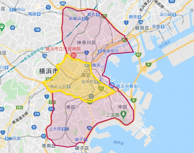 foodpanda横浜エリア