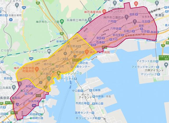 foodpanda神戸エリア